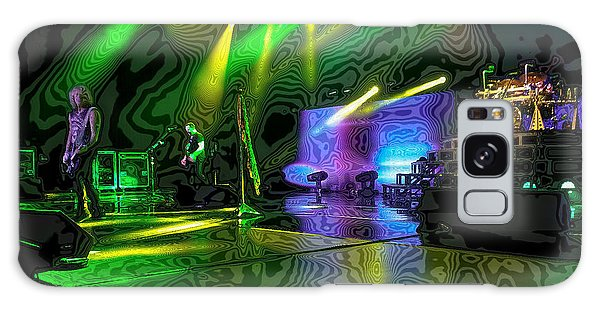 Def Leppard At Saratoga Springs 3 Galaxy Case by David Patterson