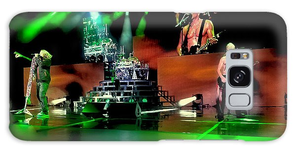 Def Leppard On Stage Galaxy Case by David Patterson