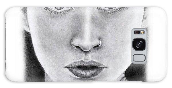 Galaxy Case - Lauren Jauregui Drawing By Sofia Furniel  by Jul V