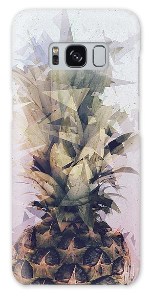 Defragmented Pineapple Galaxy Case