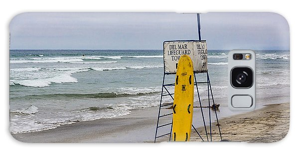 Del Mar Lifeguard Tower Galaxy Case