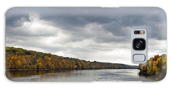 Delaware In Autumn Galaxy Case