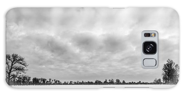 Delaware Park Winter  Meadow Galaxy Case by Chris Bordeleau