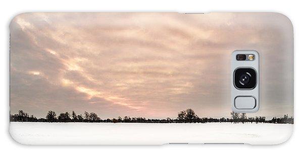 Delaware Park Winter Solace Galaxy Case by Chris Bordeleau