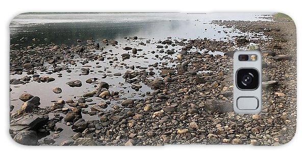 Delaware River Mist Galaxy Case by Helen Harris
