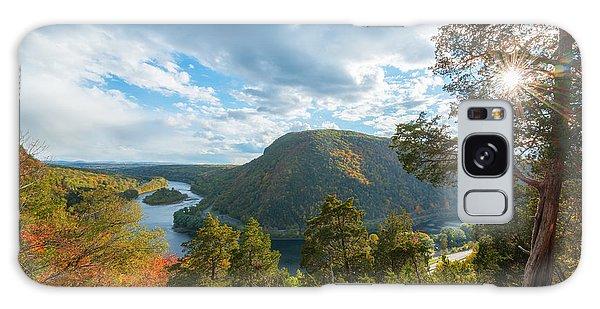 Delaware Water Gap In Autumn Galaxy Case