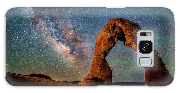 Galaxy Case featuring the photograph Delicate Air Glow by Darren White