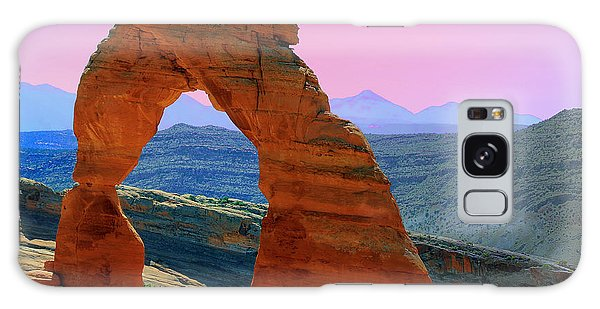 Delicate Arch  --  Arches National Park Galaxy Case
