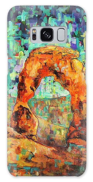 Delicate Arch As An Impression Galaxy Case