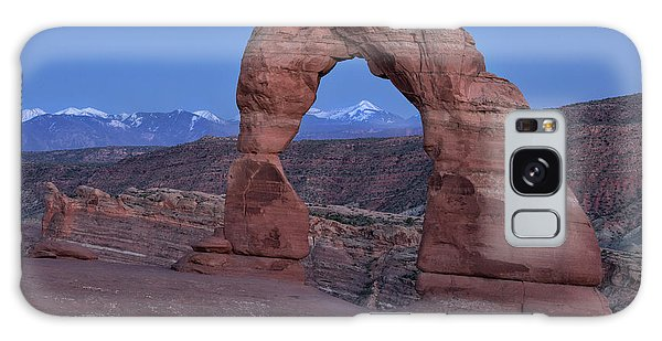 Delicate Arch At Twilight Galaxy Case