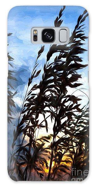 Delicate Dawn I Galaxy Case by Dan Carmichael