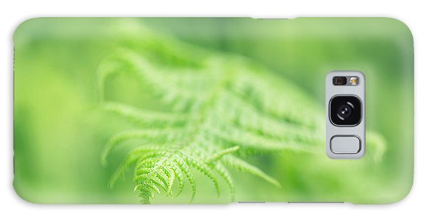 Delicate Fern - Hipster Photo Square Galaxy Case