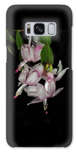 Delicate Floral Dance Galaxy Case