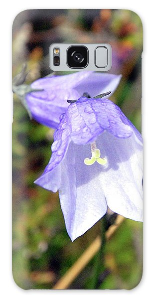 Delicate Harebell Galaxy Case by Robert Shard