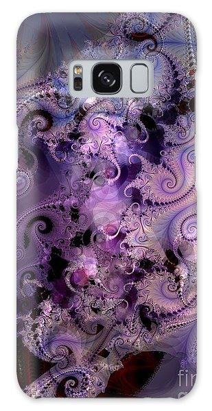 Delicate Lavender Forms Galaxy Case