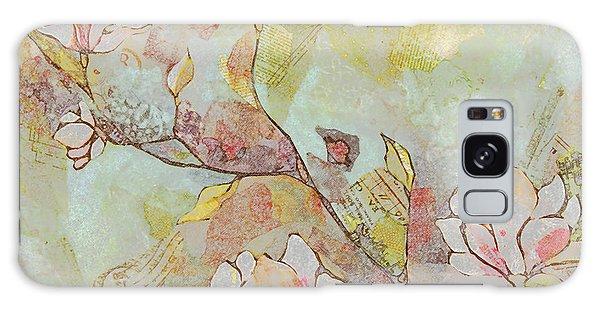 Bud Galaxy Case - Delicate Magnolias by Shadia Derbyshire