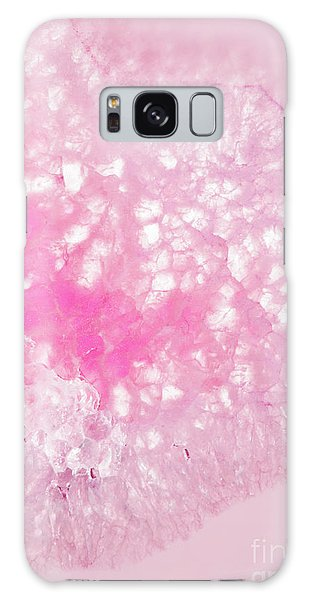 Delicate Pink Agate Galaxy Case