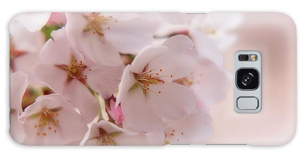 Delicate Spring Blooms Galaxy Case