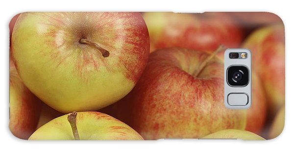 Delicious Apple Fruit Background Galaxy Case