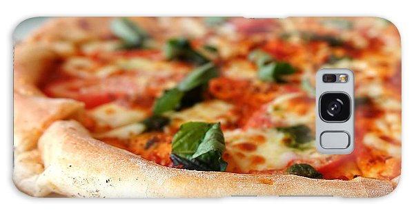 Delicious Crust Of Pizza Margherita Galaxy Case