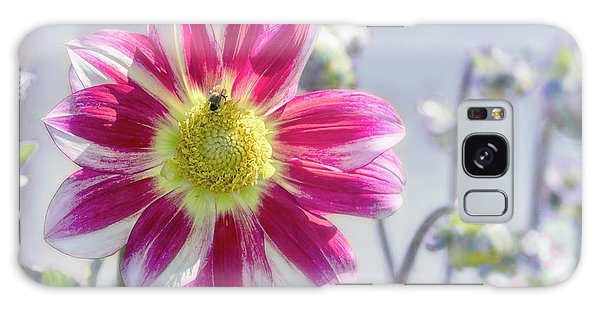 Galaxy Case featuring the photograph Delicious Dahlia by Belinda Greb
