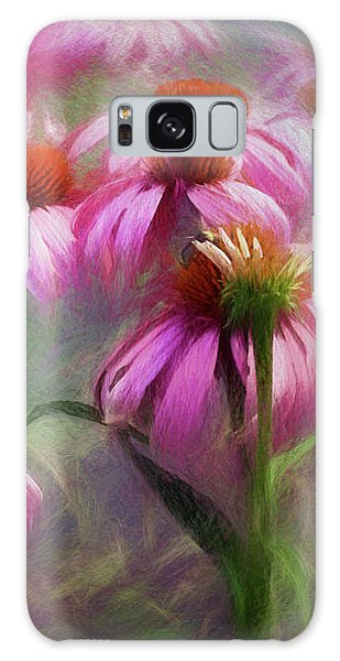 Delightful Coneflowers Galaxy Case by Diane Schuster