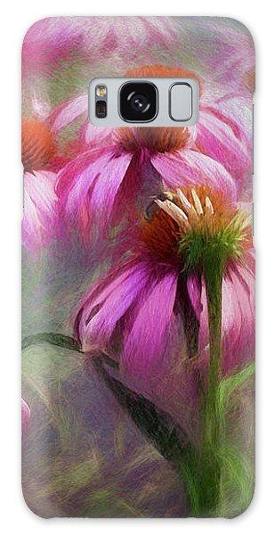Delightful Coneflowers Galaxy Case by Diane Schuster