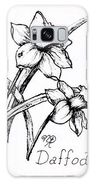 Delightful Daffodils Galaxy Case