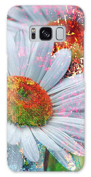 Delightful Daisies Galaxy Case