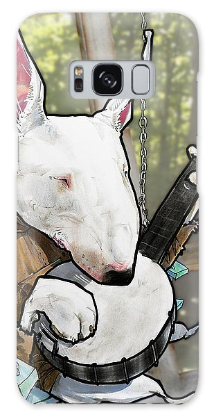 Deliverance Bull Terrier Caricature Art Print Galaxy Case