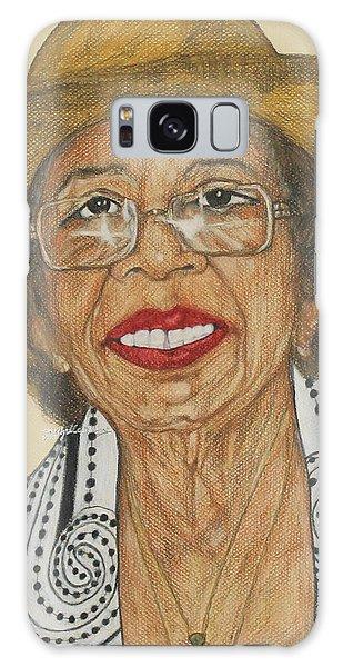 Della Willis Portrait Galaxy Case
