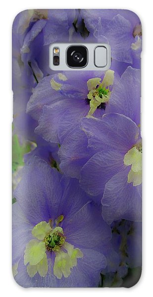 Delphinium Blues Galaxy Case