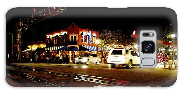 Delray Beach Railroad Crossing Galaxy Case