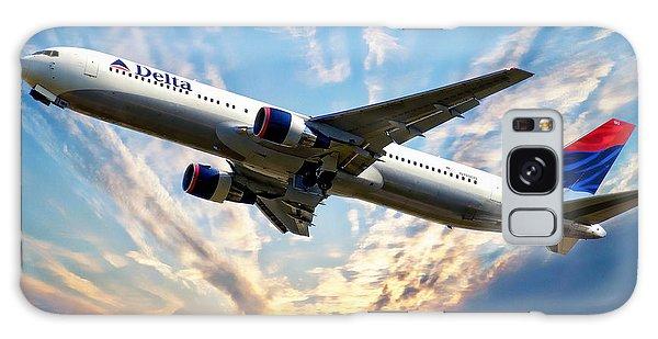 Delta Passenger Plane Galaxy Case