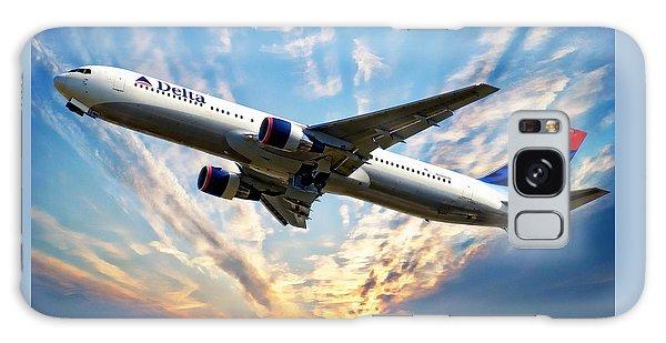 Travel Galaxy Case - Delta Passenger Plane by Anthony Dezenzio