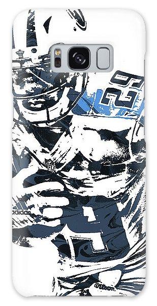 Demarco Murray Tennessee Titans Pixel Art Galaxy Case by Joe Hamilton