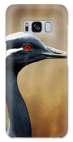 Demoiselle Crane Galaxy Case