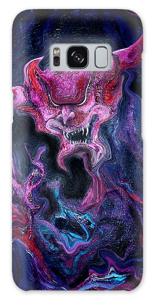 Demon Fire Galaxy Case by Kevin Middleton