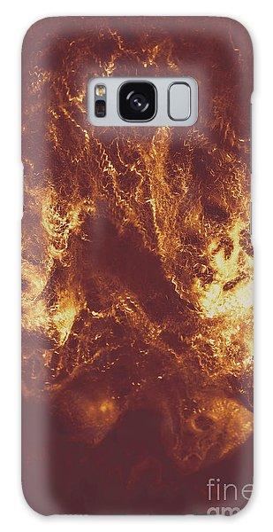 Bone Galaxy Case - Demon Hellish Nightmare by Jorgo Photography - Wall Art Gallery