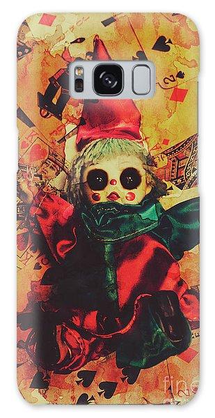 Voodoo Galaxy Case - Demonic Possessed Joker Doll by Jorgo Photography - Wall Art Gallery