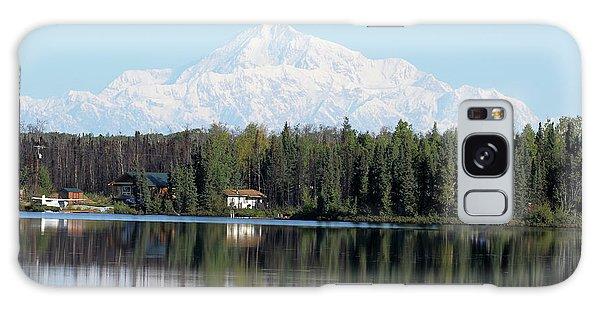 Denali From Kashwitna Lake Galaxy Case