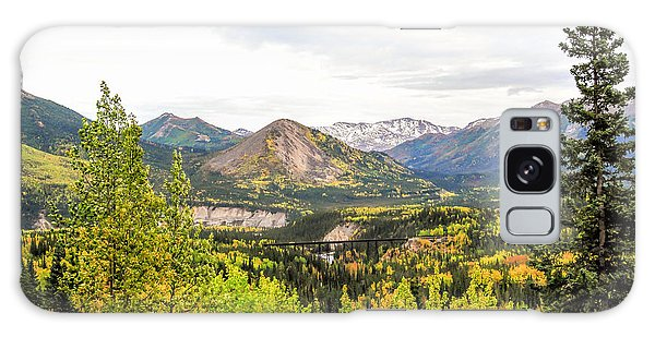 Denali National Park Landscape No 2 Galaxy Case