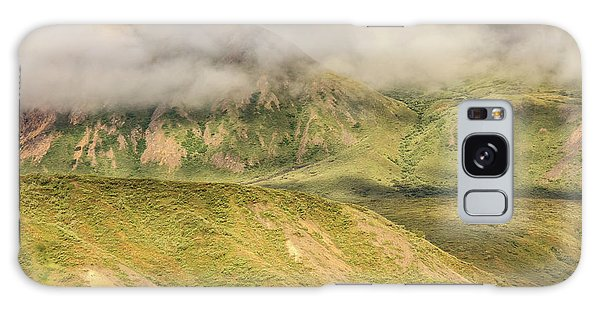Denali National Park Mountain Under Clouds Galaxy Case