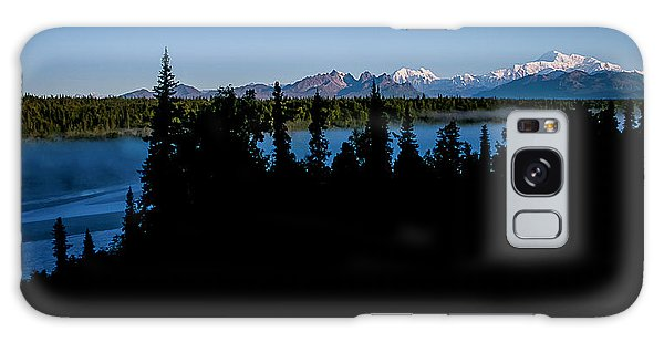 Denali Over The Susitna River Galaxy Case