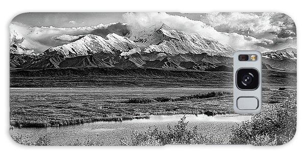 Denali Galaxy Case - Denali, The High One In Black And White by Rick Berk