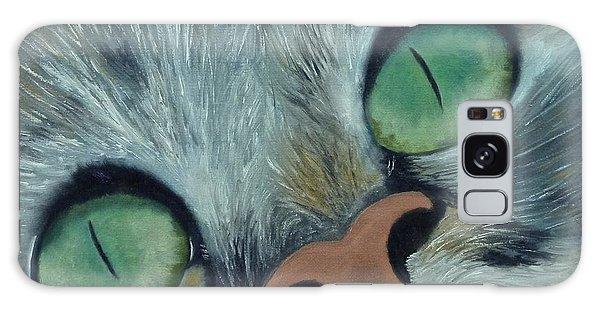 Denise's Cat Jasmine Galaxy Case