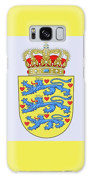 Denmark Coat Of Arms Galaxy Case by Movie Poster Prints