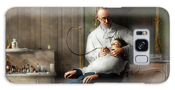 Galaxy Case featuring the photograph Dentist - Good Oral Hygiene 1918  by Mike Savad
