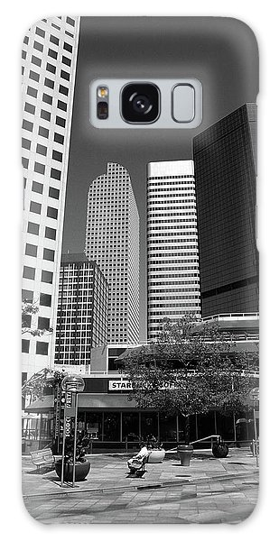 Denver Architecture Bw Galaxy Case by Frank Romeo