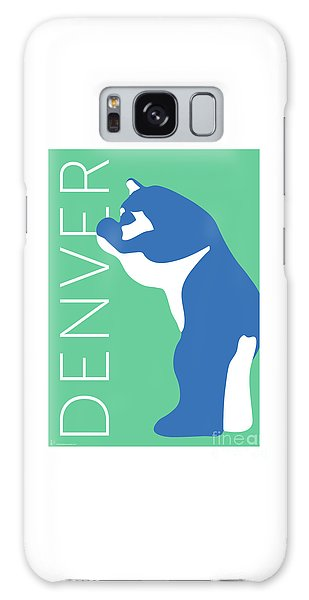 Denver Blue Bear/aqua Galaxy Case